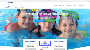 Hyper Pool Group Website Design