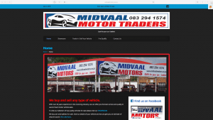 Midvaal Motors Website Design