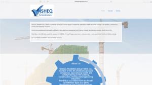 NSHEQ Training Solutions Website Design